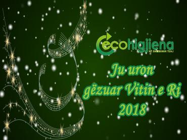 Ecohigjiena Ju uron gezuar Vitin e Ri 2018